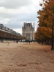 paris jardin des tuileries to louvre nov19