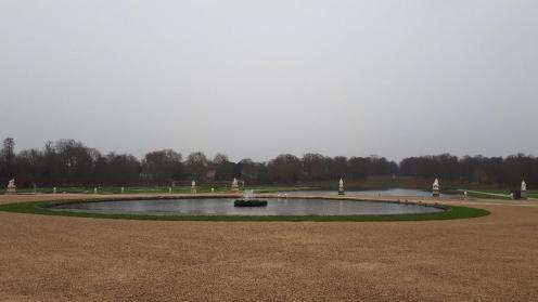 chan castle parterre fountain in garden nov19