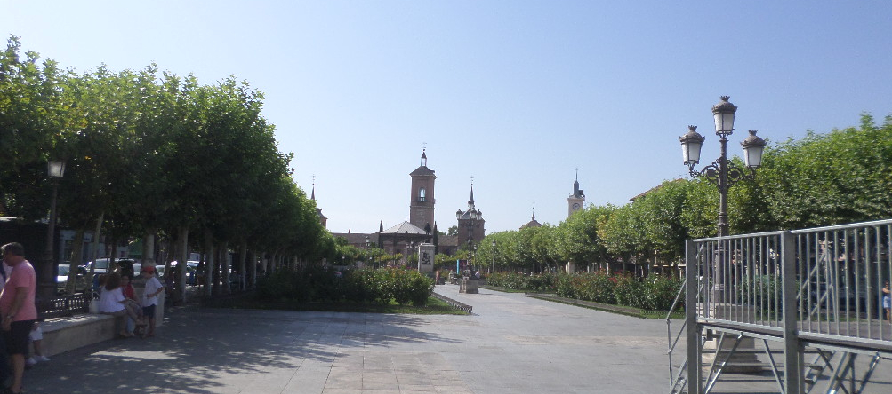 Alcala de Henares Plaza de Cervantes