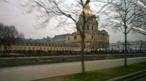 passing St Louis Church Invalides