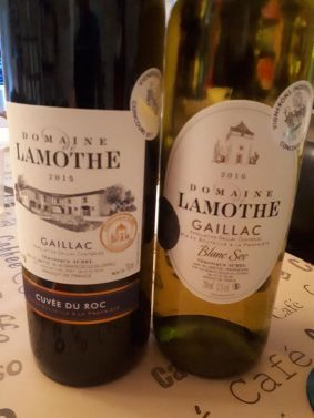 domaine Lamothe Red 2015 White 2016
