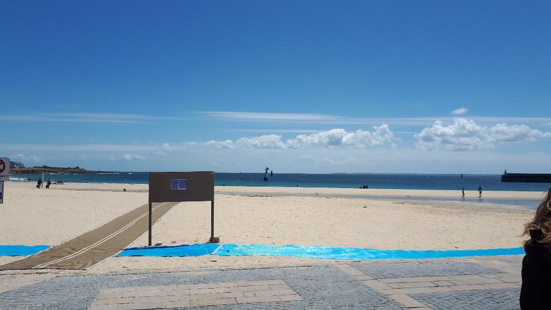 quiberon grande plage to sea jun20