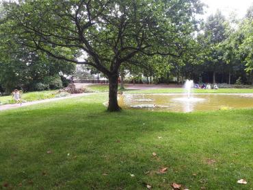 cholet parc François Tharreau fountain jul20