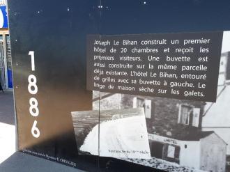 Perros Guirec plage trestraou grand hotel hist panel 1 jul20