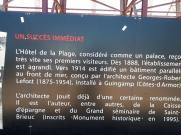 Perros Guirec plage trestraou grand hotel hist panel 4 jul20