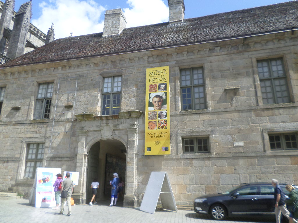 Quimper musee departemental breton front aug19