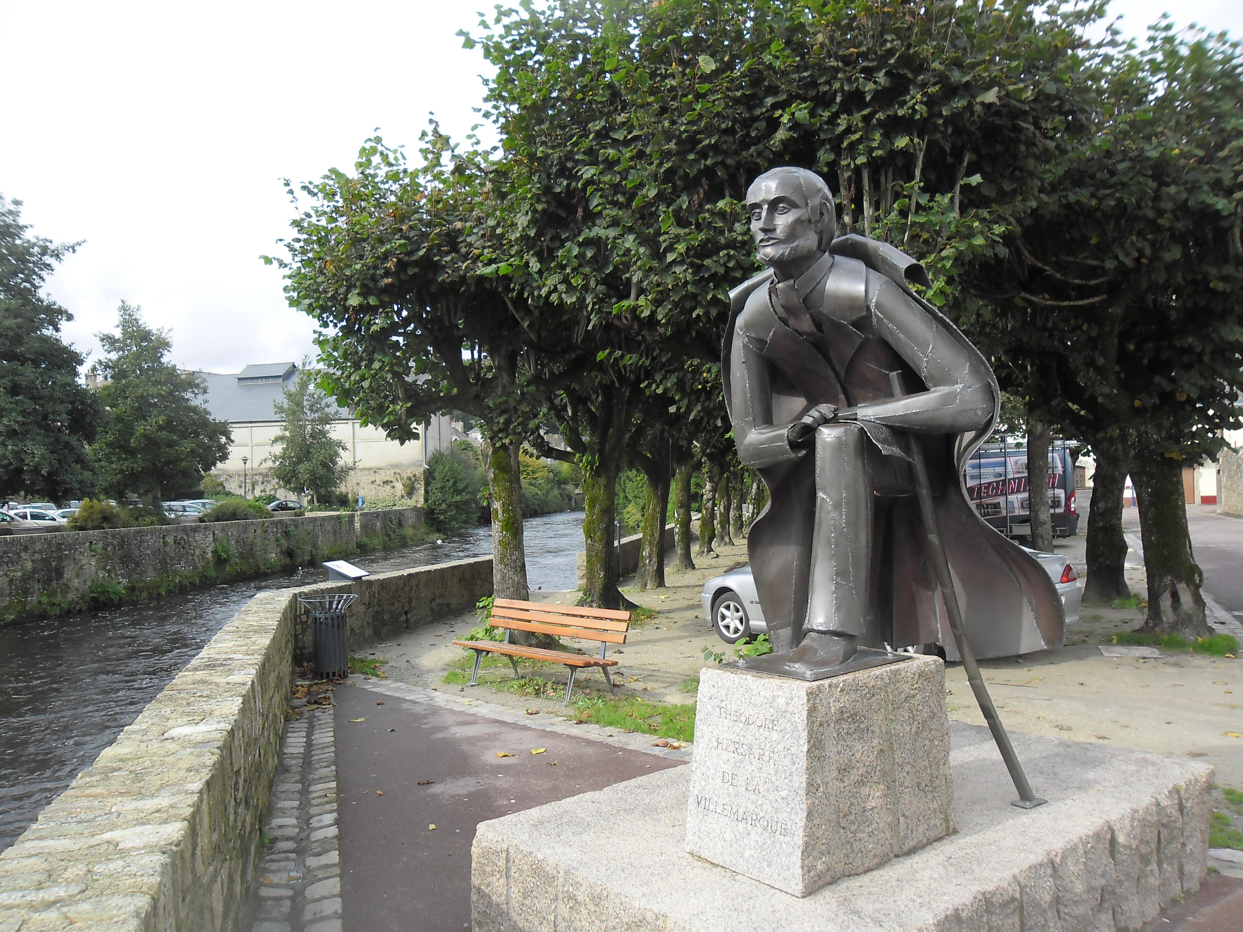 quimperle-river-statue-theodore-de-la-villemarquie-wrote-barzas-breiz-river-laita-oct12