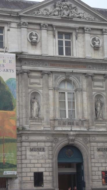 Rennes mus beaux arts front door oct12