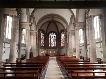 sainte anne d auray bas ste anne cloister chapelle de l'immaculée inside jul20
