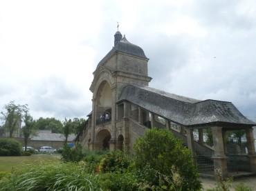 Sainte Anne d auray scala sancta stairs jul17
