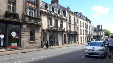 vannes rue thiers towards le port jul20