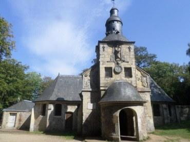 Honfleur Notre Dame de Grâce Chapel front aug20