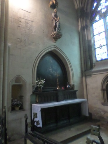 Lisieux Cathedral St Pierre chapel