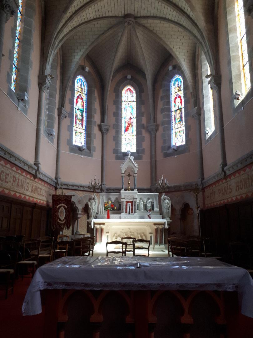 plumelec ch St Maurice altar aug20