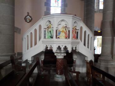 plumelec ch St Maurice pulpit aug20