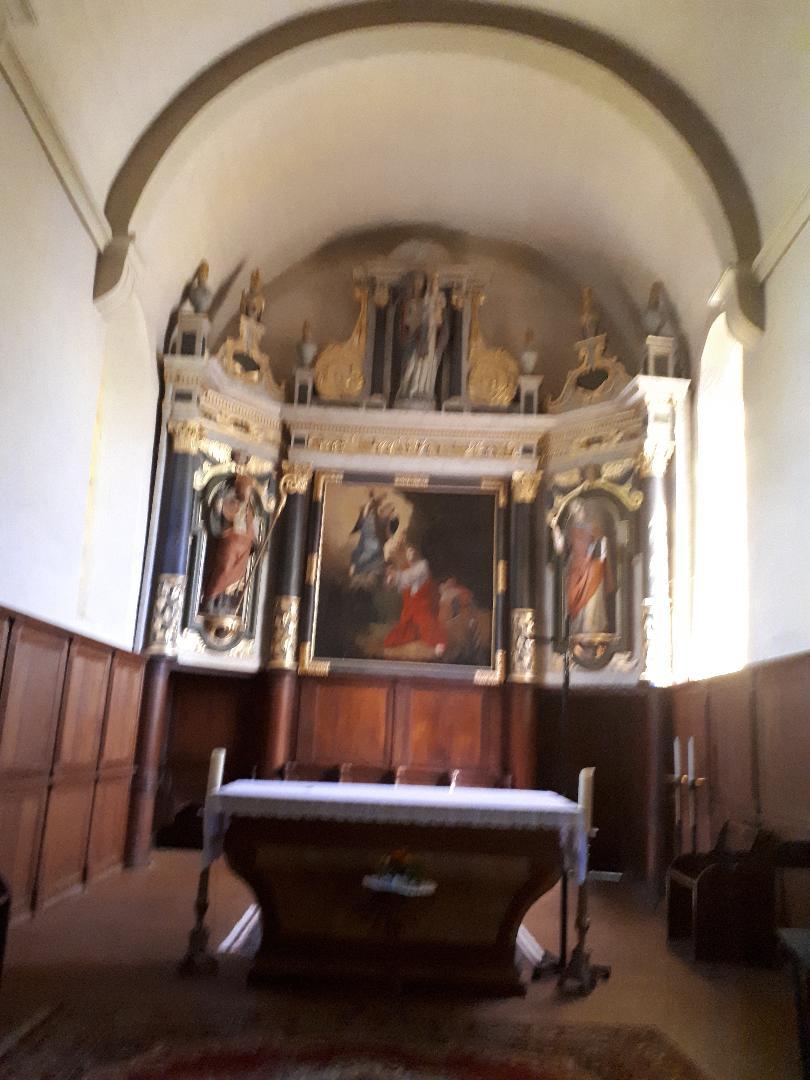 Plumergat ch Saint Thuriau altar aug20