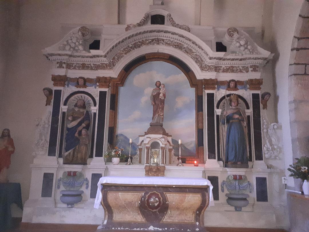 Plumergat ch Saint Thuriau chapel of St Thuriau and Child aug20