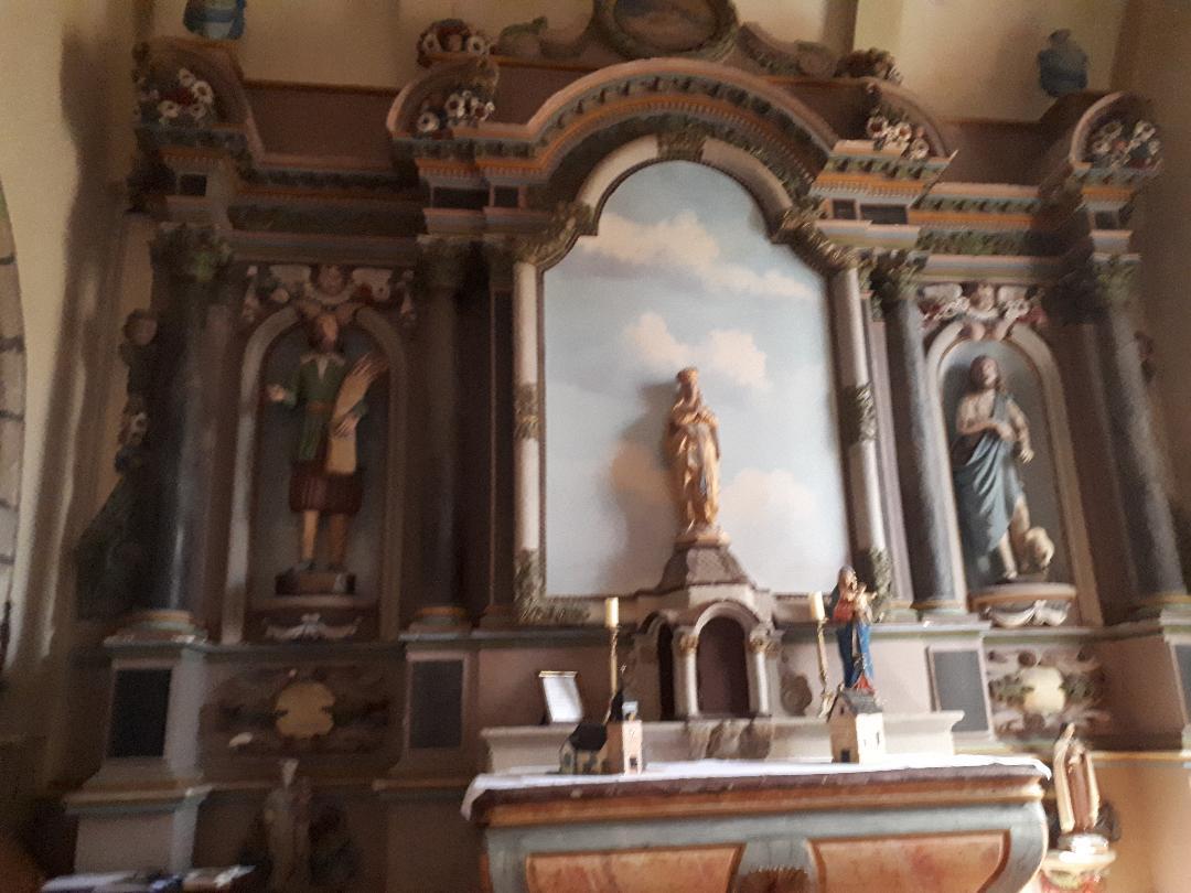 Plumergat ch Saint Thuriau chapel of the Virgin right aug20