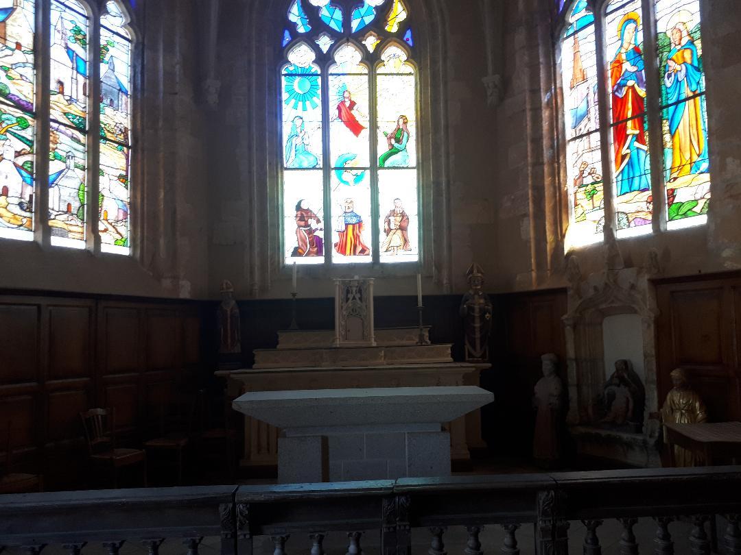Plumergat chapelle de la trinité altar aug20