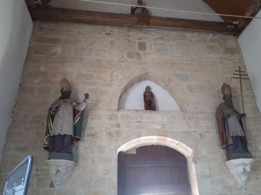 plumergat chapelle de la trinité back wall aug20