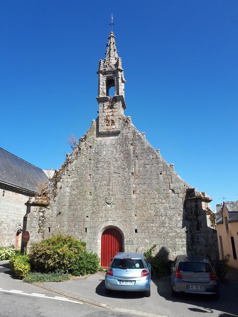 Plumergat chapelle Saint-Servais front aug20