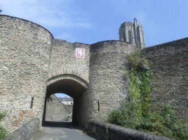 Saint Lô ramparts main gate aug20