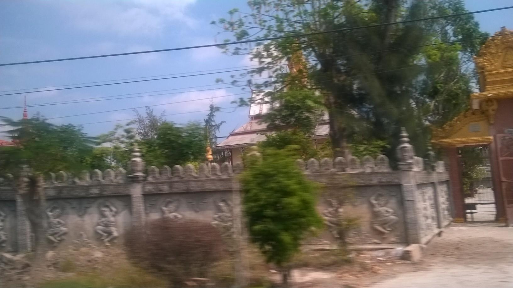 ca mau Monivongsa Bopharam Temple is a Khmer temple passing mar16
