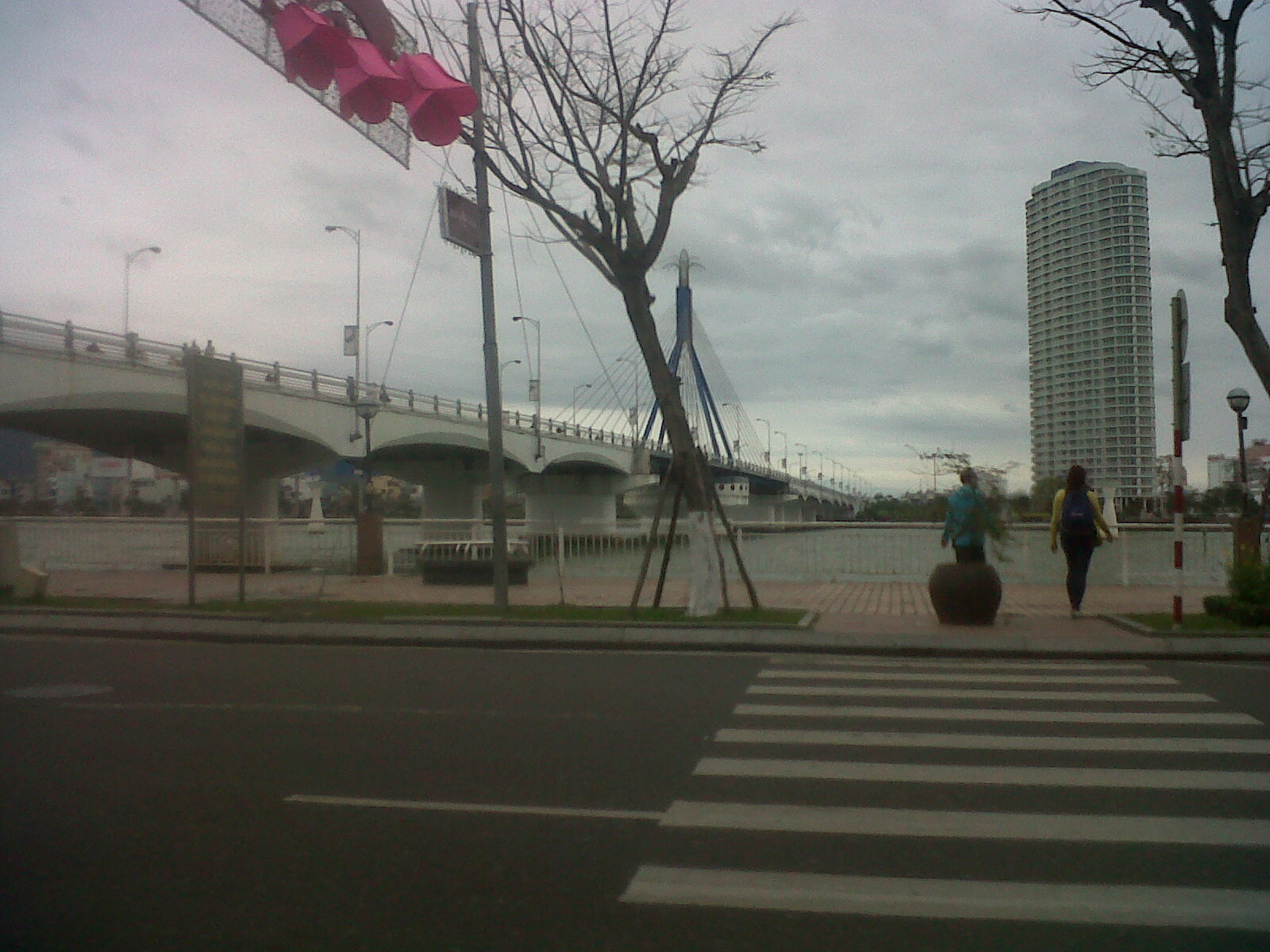 danang rotating bridge feb14