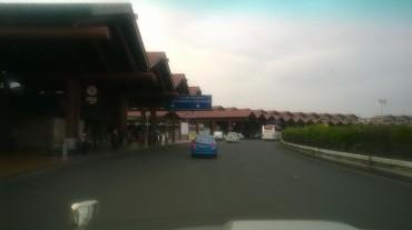 jakarta airport T2 arriving going singapore mar15