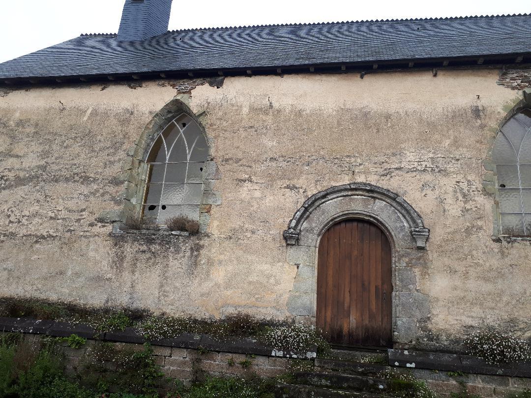 la trinite Porhoet chapelle st yves side sep20