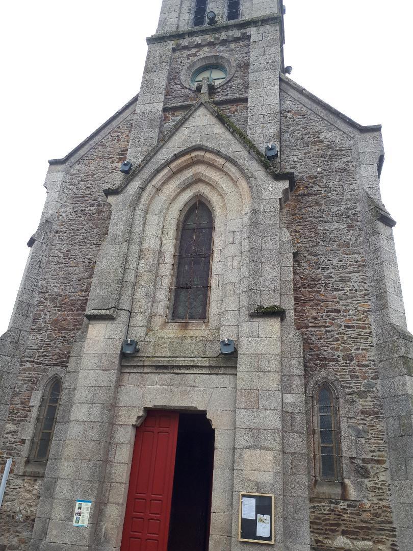 loudeac chapelle ND de Vertus front service sep20