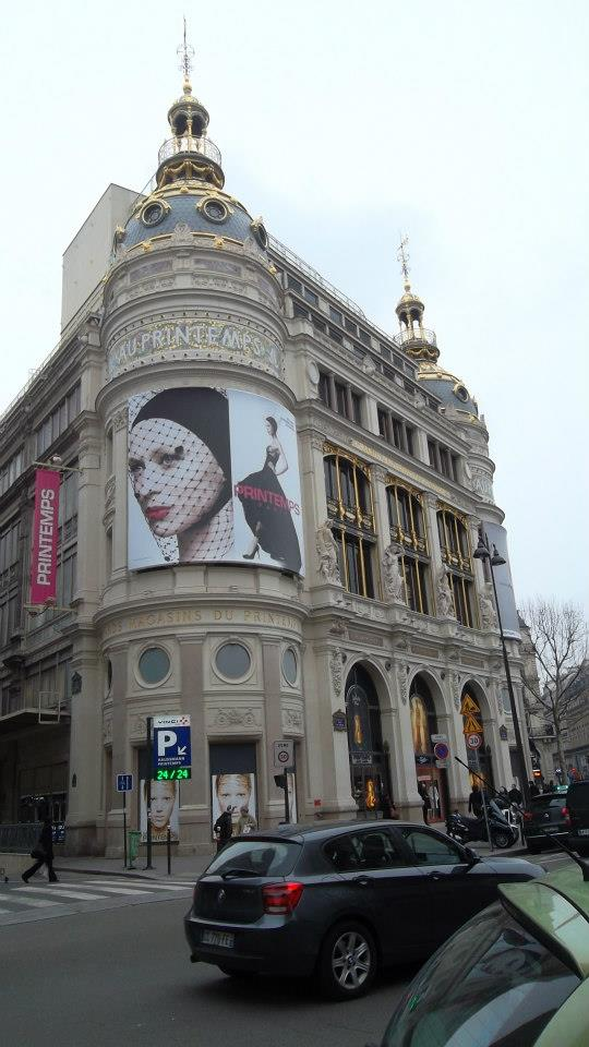 paris au printemps at haussmann mar13