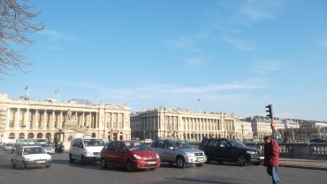 Paris pl de la concorde brest statue nov11