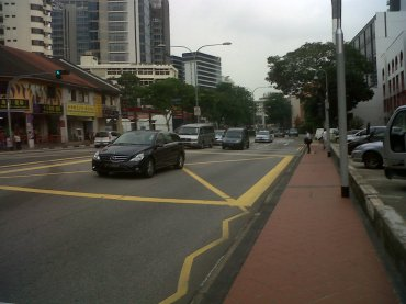 Singapore corner of Baliester rd and thomson rd nov12