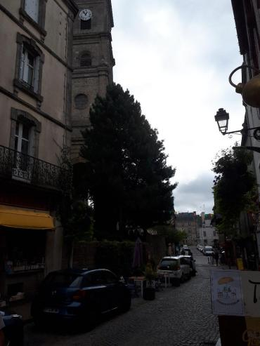 vannes rue de la fontaine to ramparts et ch St Patern left sep20