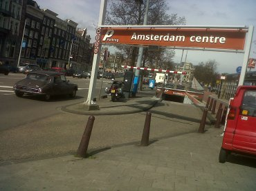 ams parking centre near centraal apr13