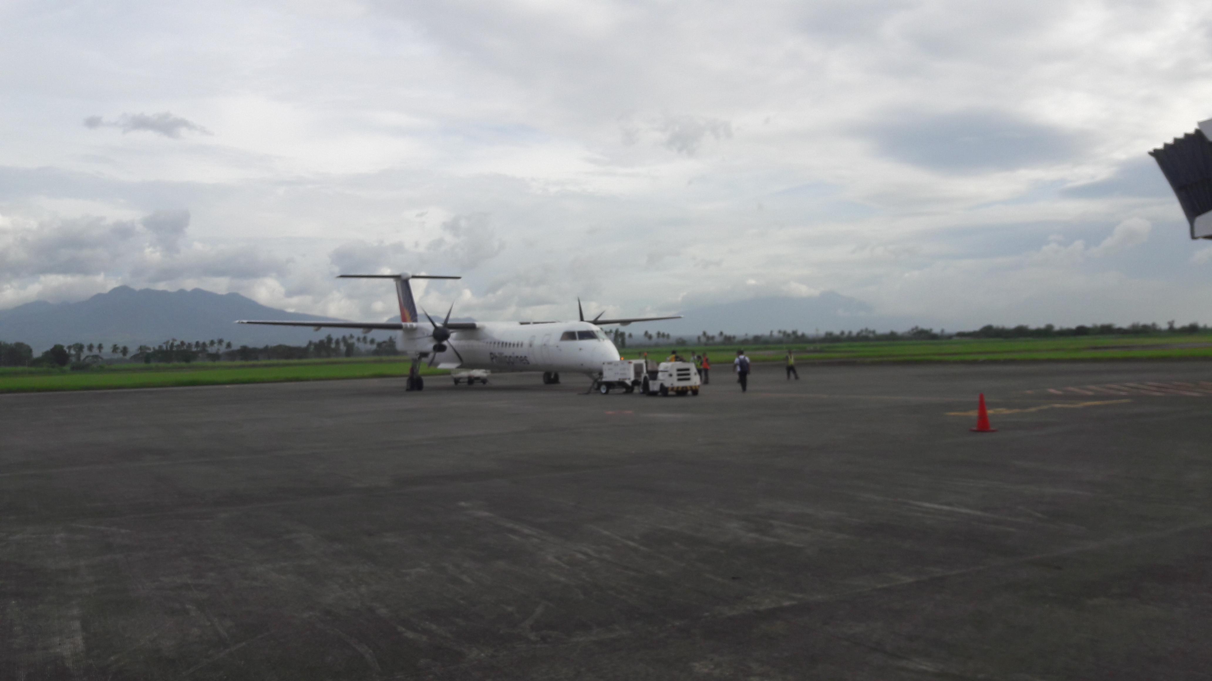 bacolod aiport bombardier Q400 to cebu jan18
