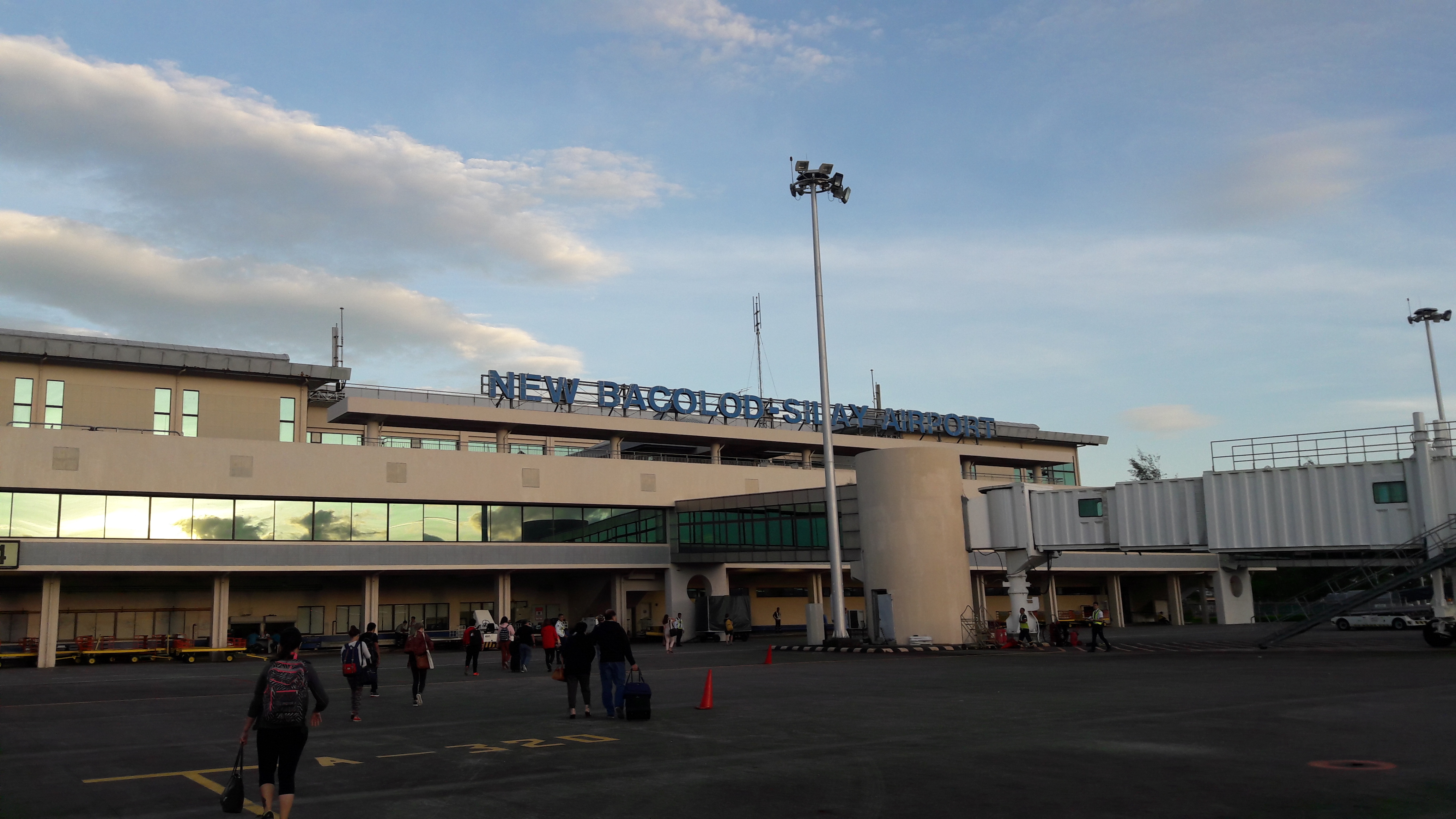 bacolod airport arriving jan18