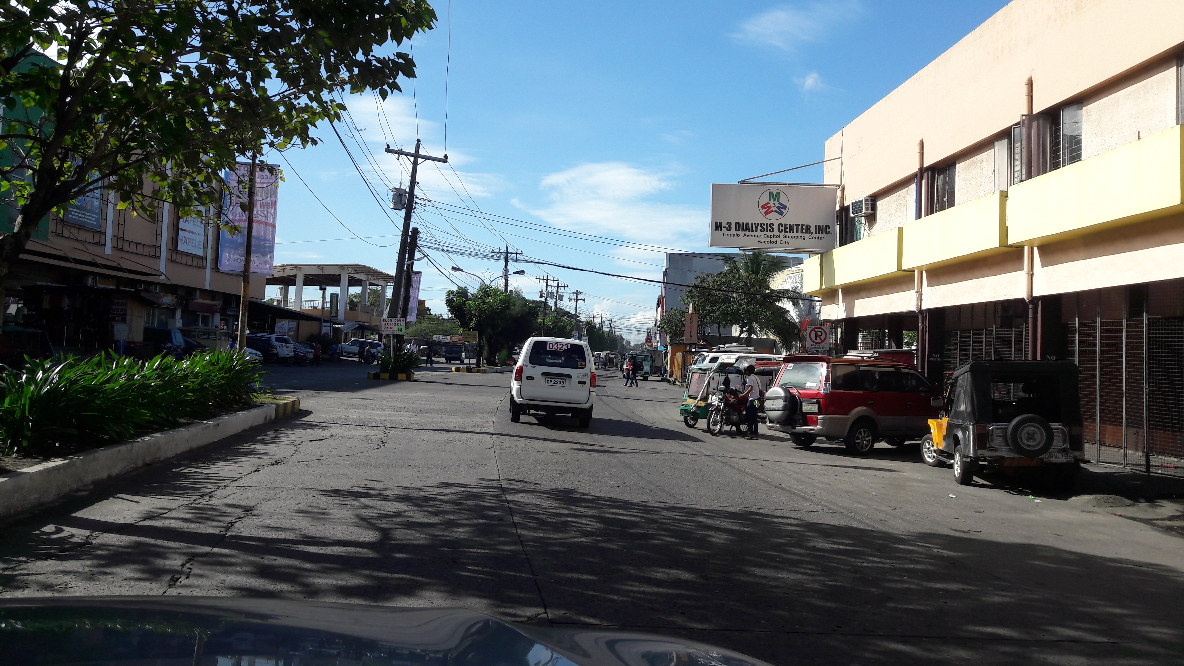 bacolod street driving in city jan18