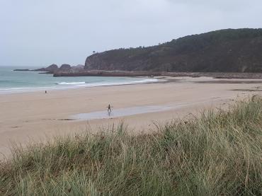 Frehel grande plage sand beach oct20
