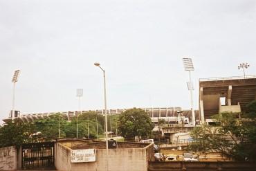 lagos soccer stadium Surelere 2009