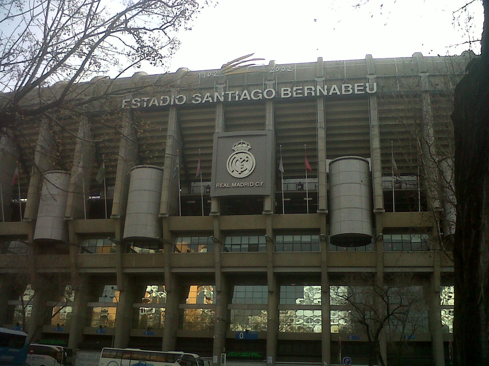 mad real madrid estadio santiago bernabeu emblem feb13