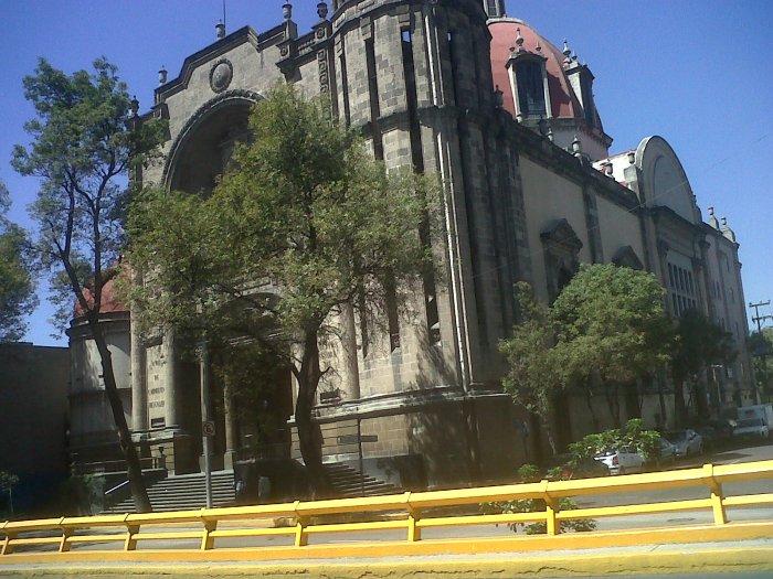 Mex iglesia carmelitas descalzas oct12
