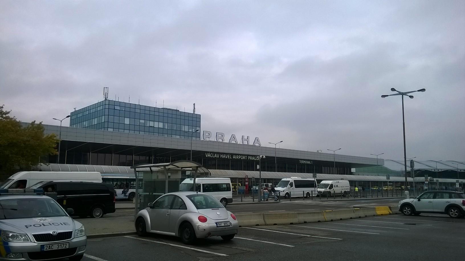 Prague airport T1 passing oct16
