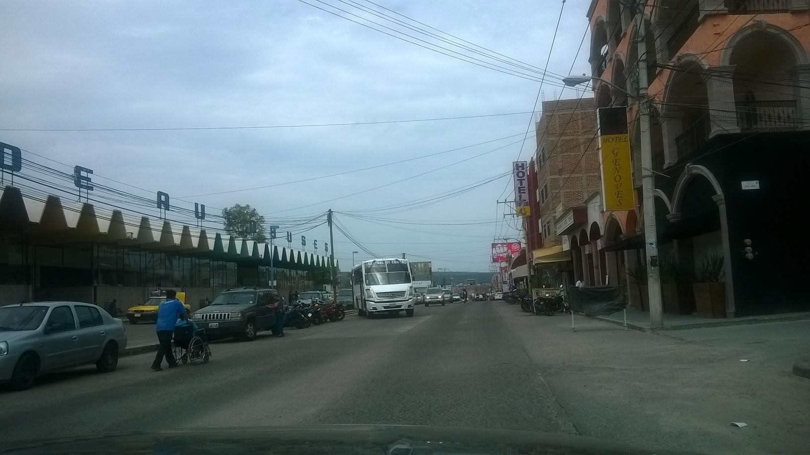 tepatitlan de morelos city center bus depot apr15