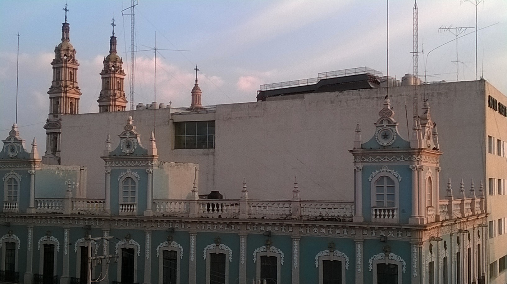 tepatitlan de morelos view front from hotel apr15