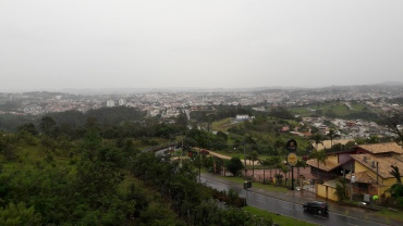 Vinhedo SP mirador view of city may17
