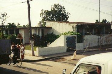 Bauta escula nyen van throi ultima escuela en Cuba de Pedro