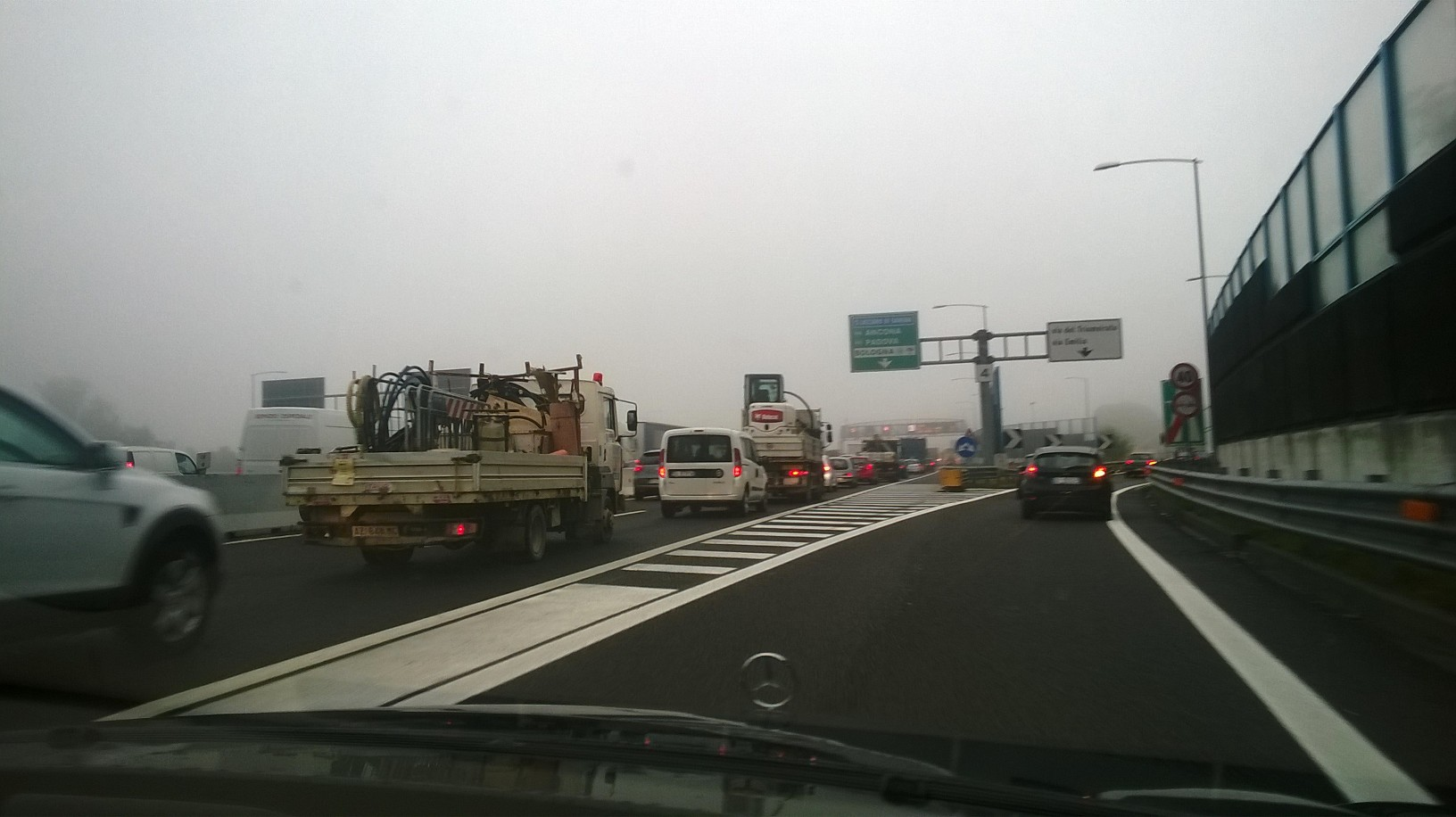 bologna driving airport A1 oct15