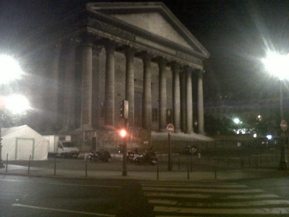 Paris ch Madeleine night jun12